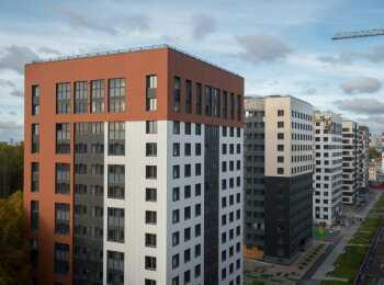 Панельные корпуса высотой 9-14 этажей
